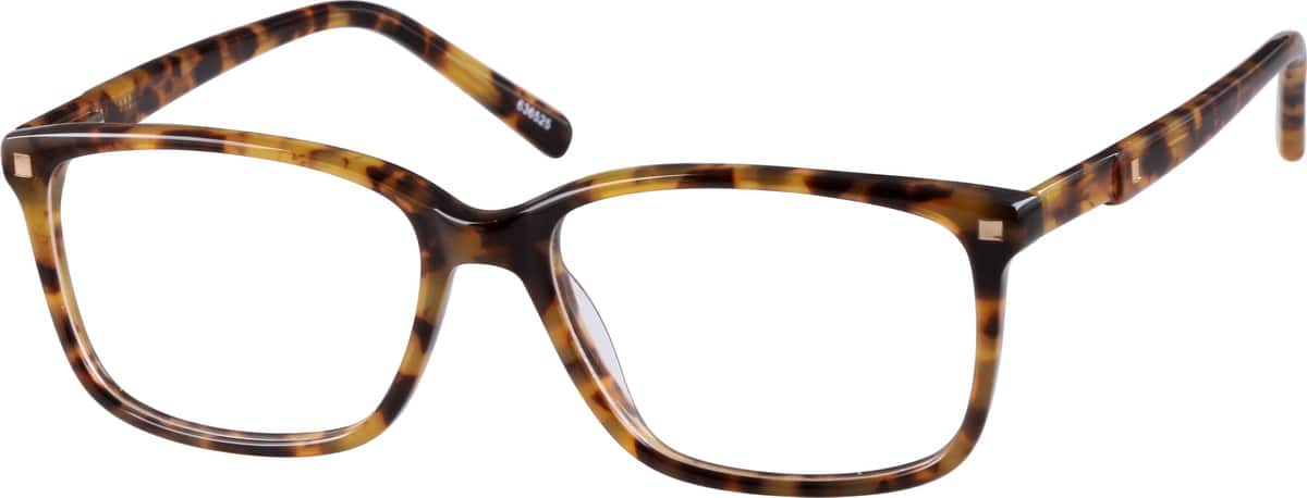 Detailed Wayfarer Eyeglasses