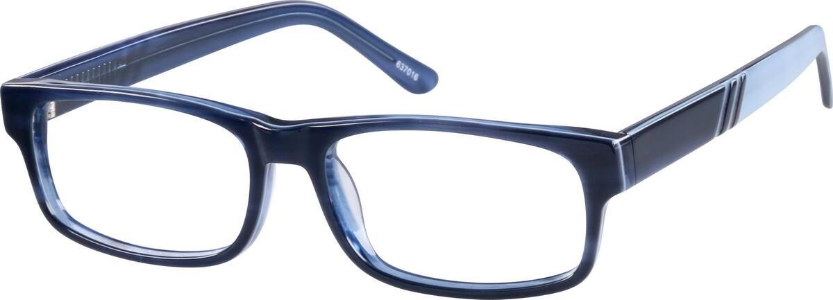 MenFull RimAcetate/PlasticEyeglasses #637016