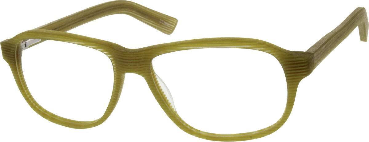 MenFull RimAcetate/PlasticEyeglasses #637425