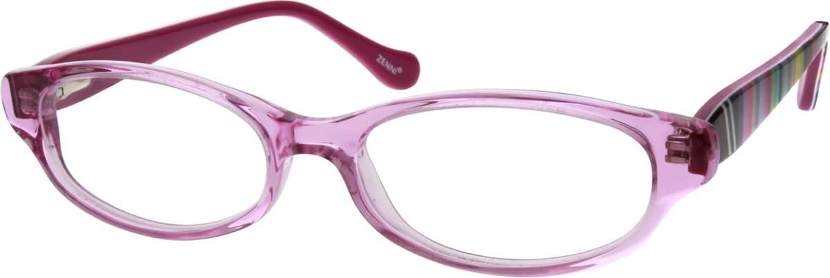 GirlFull RimAcetate/PlasticEyeglasses #637621