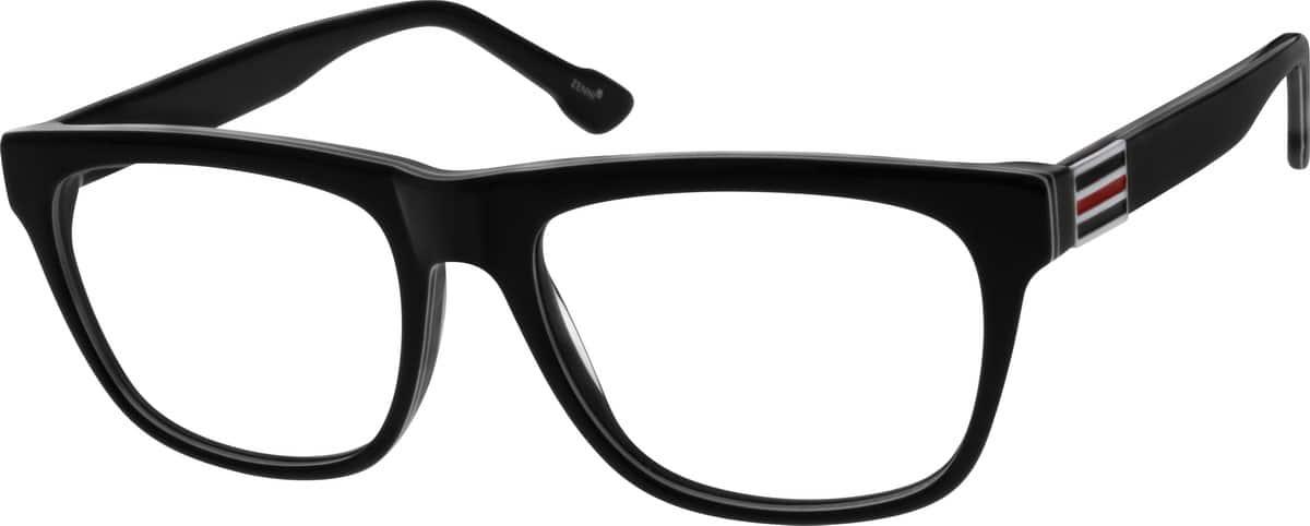 MenFull RimAcetate/PlasticEyeglasses #637816