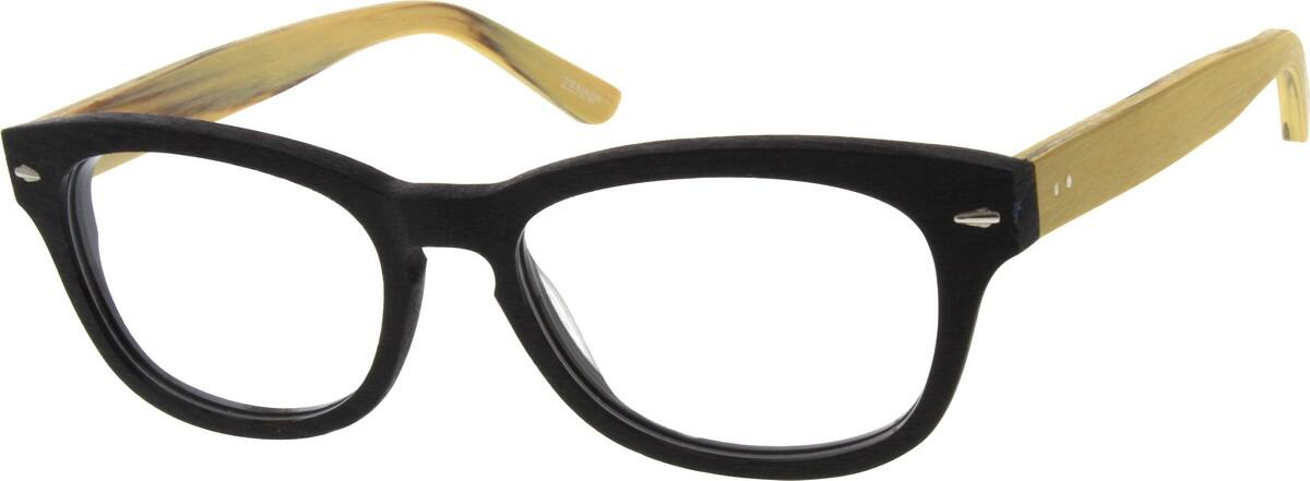 MenFull RimAcetate/PlasticEyeglasses #638015