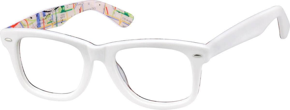 UnisexFull RimAcetate/PlasticEyeglasses #638718