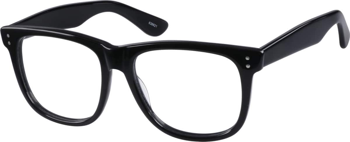Classic Black Square Eyeglasses & Sunglasses