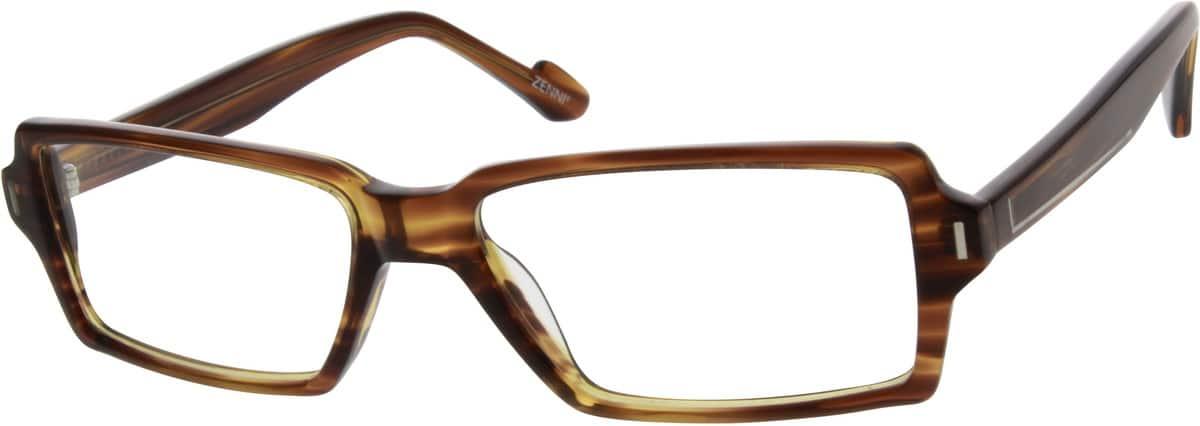 MenFull RimAcetate/PlasticEyeglasses #639121