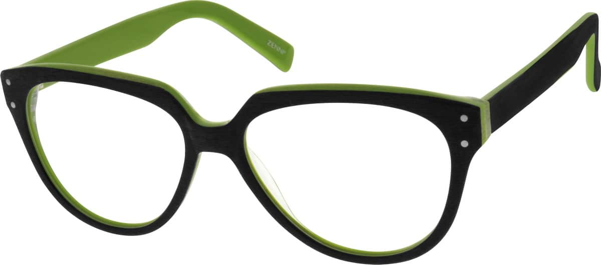 Women Full Rim Acetate/Plastic Eyeglasses #639324