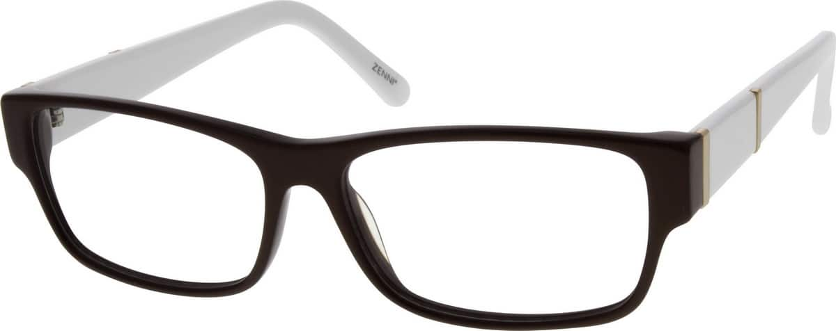 UnisexFull RimAcetate/PlasticEyeglasses #639415