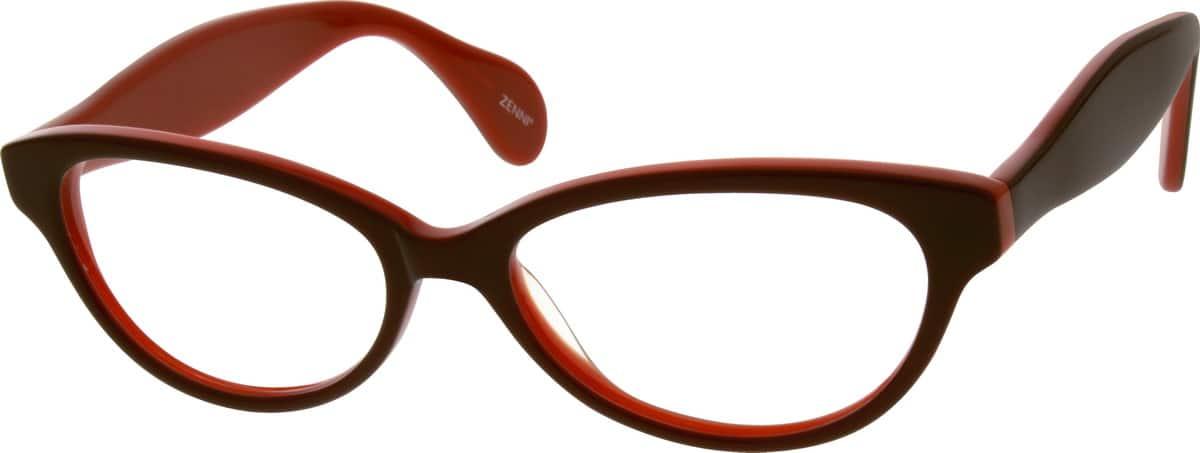WomenFull RimAcetate/PlasticEyeglasses #639721