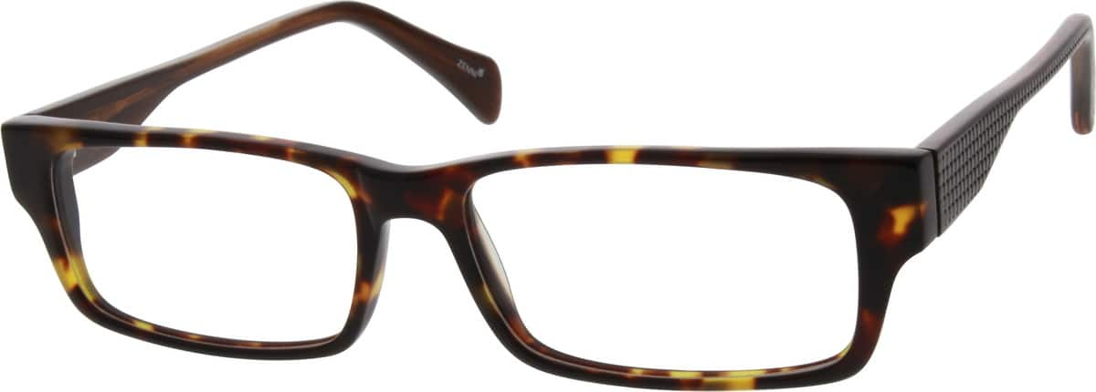 Men Full Rim Acetate/Plastic Eyeglasses #639816