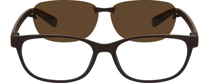 UnisexFull RimAcetate/PlasticEyeglasses #640012