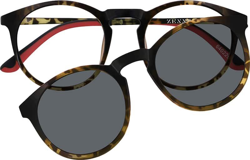 UnisexFull RimAcetate/PlasticEyeglasses #640221
