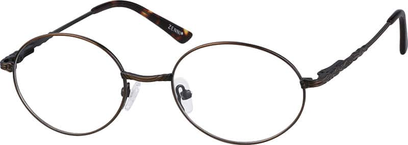 Kids Full Rim Metal Eyeglasses #650115