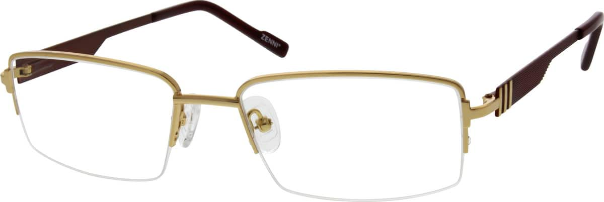 650514-stainless-steel-half-rim-frame-with-metal-alloy-temples