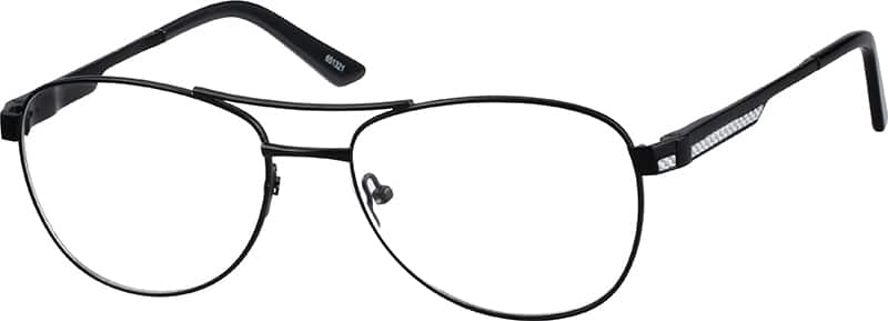 Men Full Rim Metal Eyeglasses #651312