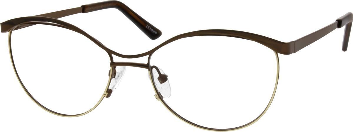 WomenFull RimMetalEyeglasses #651621
