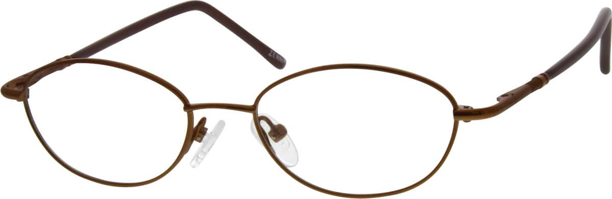 Boy Full Rim Metal Eyeglasses #652115