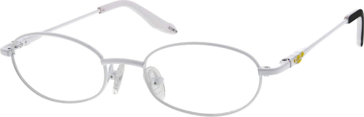 Girl Full Rim Metal Eyeglasses #652219