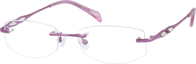 WomenRimlessMetalEyeglasses #652519
