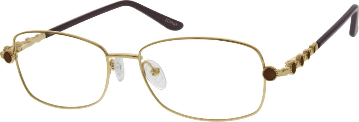 Women Full Rim Metal Eyeglasses #652619