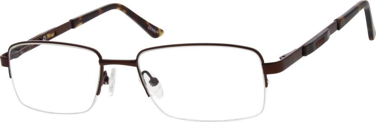 MenHalf RimMetalEyeglasses #654614