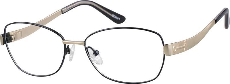 WomenFull RimStainless SteelEyeglasses #654716
