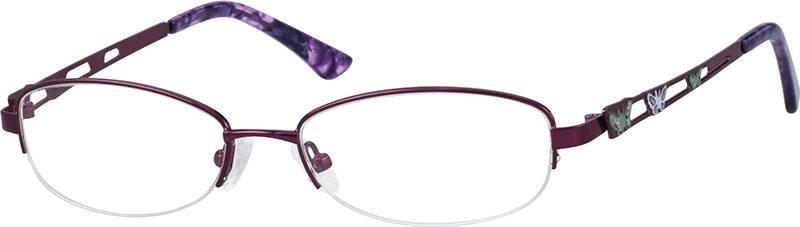 womens-hypoallergenic-metal-alloy-half-rim-eyeglass-frame-655117