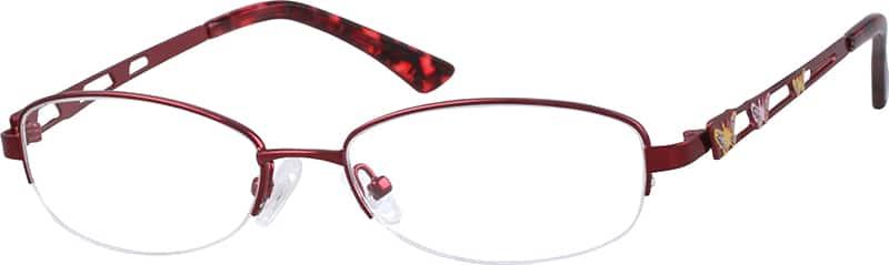 womens-hypoallergenic-metal-alloy-half-rim-eyeglass-frame-655118