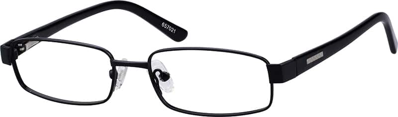 Boy Full Rim Metal Eyeglasses #657021