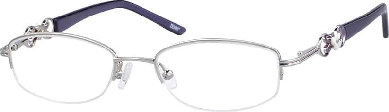 stainless-steel-half-rim-eyeglass-frame-and-spring-hinges-657911