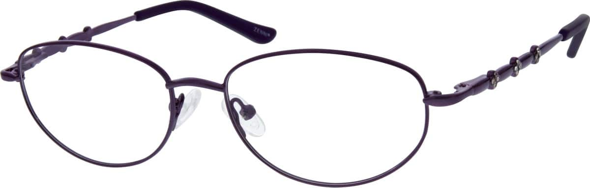 womens-metal-sparkling-crystals-alloy-full-rim-eyeglass-frame-with-spring-hinges-658017