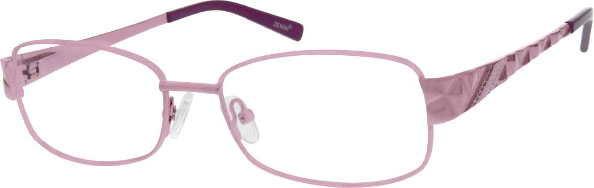 Women Full Rim Stainless Steel Eyeglasses #658619