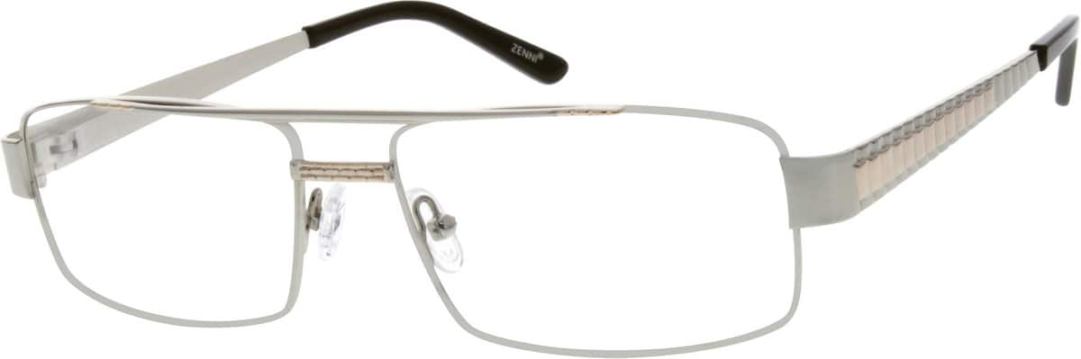 Men Full Rim Stainless Steel Eyeglasses #658711