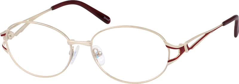 Women Full Rim Metal Eyeglasses #659811