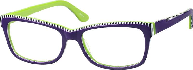 Women Full Rim Acetate/Plastic Eyeglasses #660217