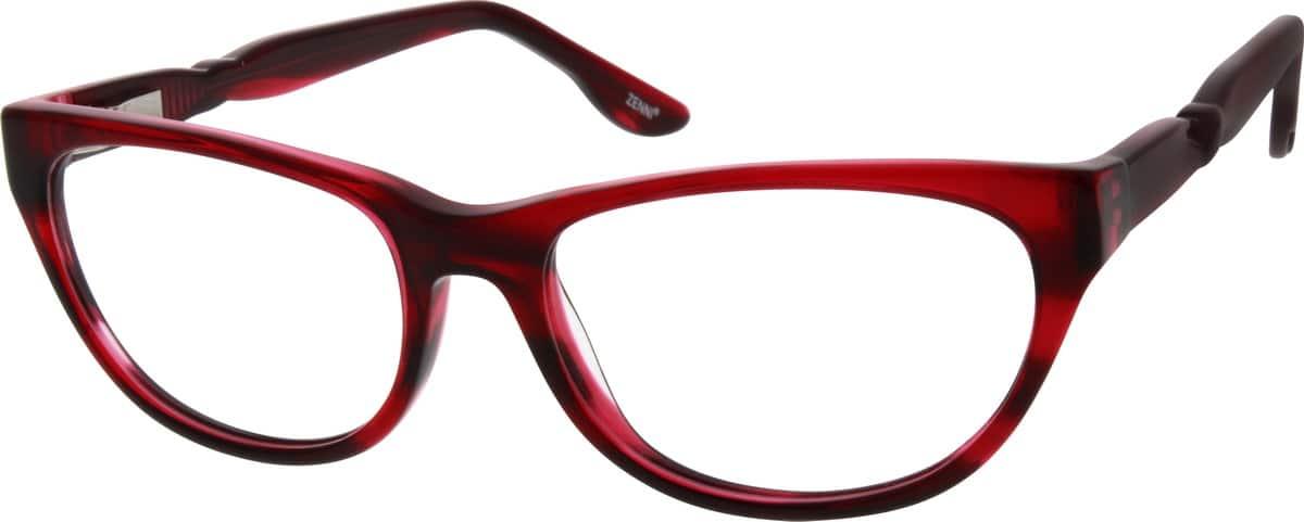 GirlFull RimAcetate/PlasticEyeglasses #660415