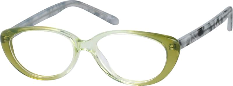 Girl Full Rim Acetate/Plastic Eyeglasses #660524