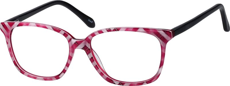 Women Full Rim Acetate/Plastic Eyeglasses #660716
