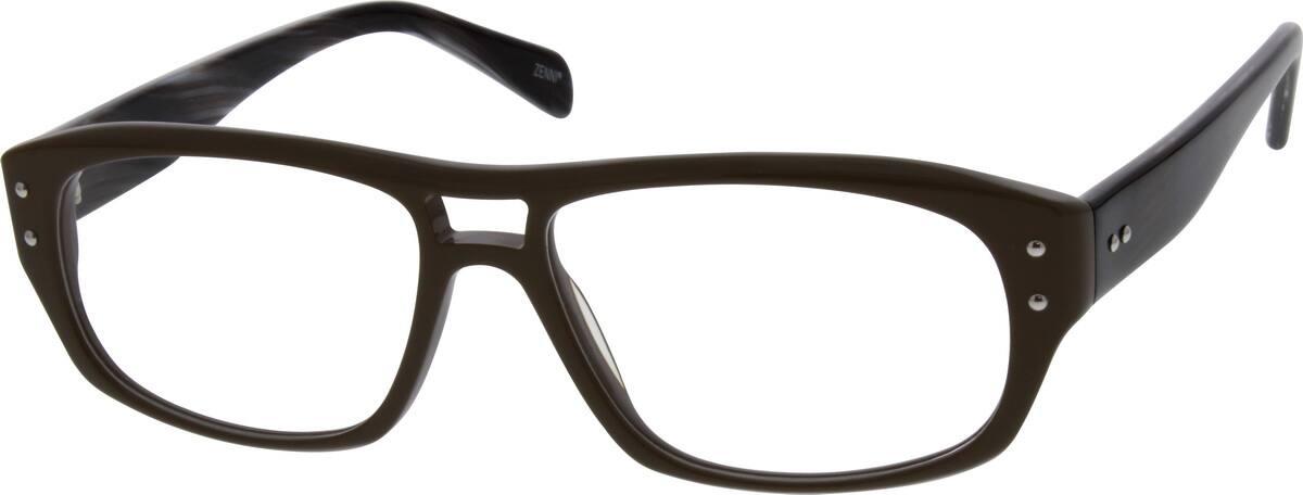 UnisexFull RimAcetate/PlasticEyeglasses #661615