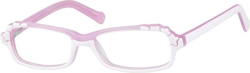 GirlFull RimAcetate/PlasticEyeglasses #662230