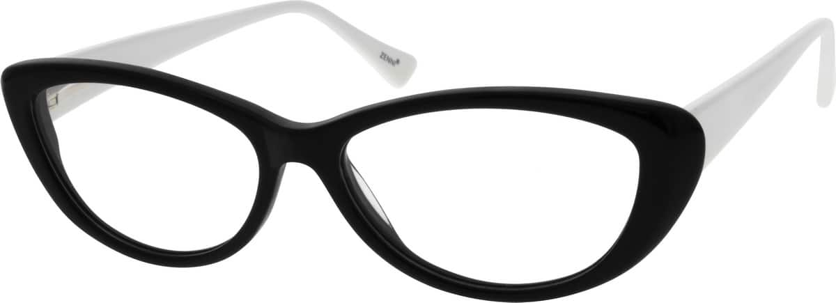 Women Full Rim Acetate/Plastic Eyeglasses #662621