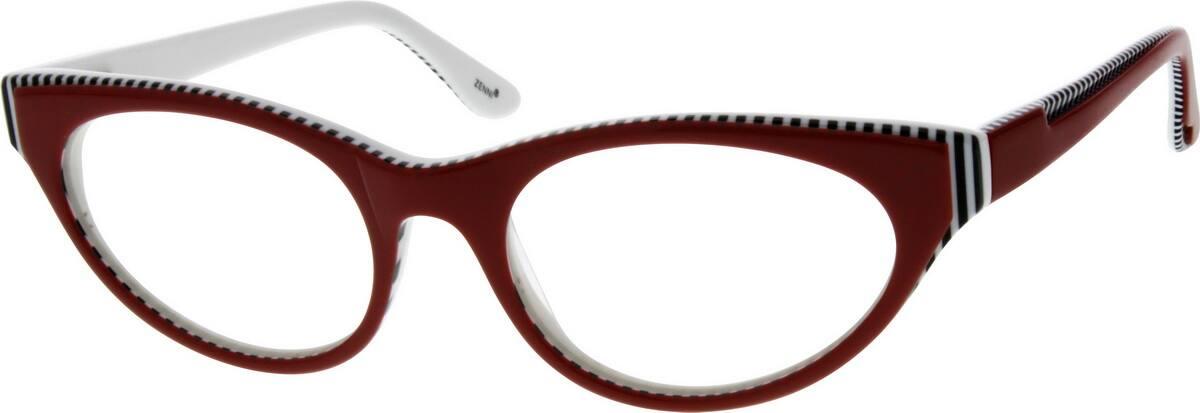 WomenFull RimAcetate/PlasticEyeglasses #662718