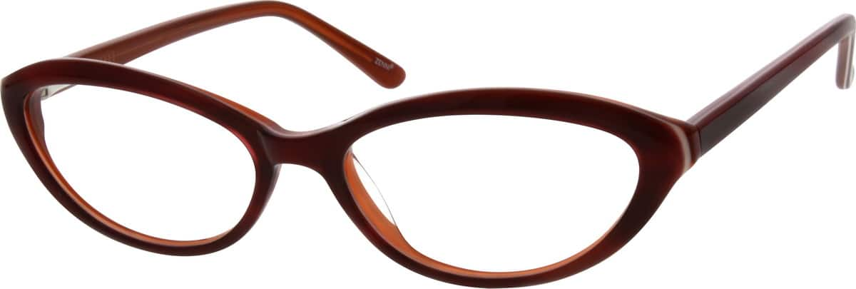 Women Full Rim Acetate/Plastic Eyeglasses #663228