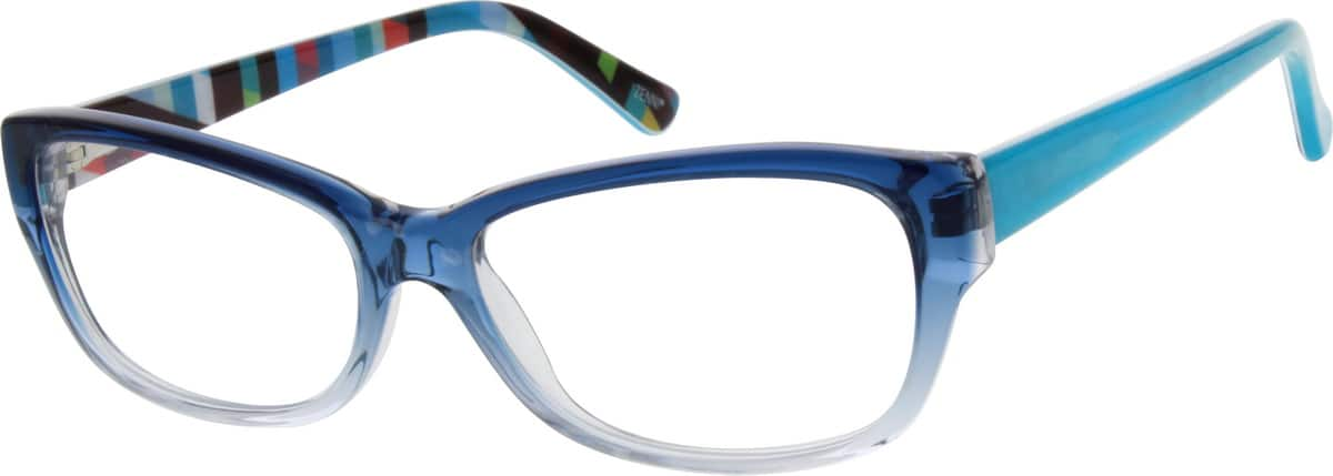 Women Full Rim Acetate/Plastic Eyeglasses #663325