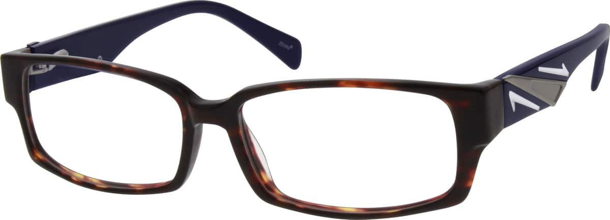 Men Full Rim Acetate/Plastic Eyeglasses #663825