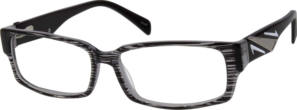 Men Full Rim Acetate/Plastic Eyeglasses #663831