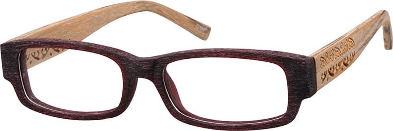 UnisexFull RimAcetate/PlasticEyeglasses #664615