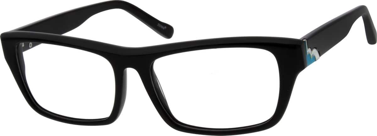 UnisexFull RimAcetate/PlasticEyeglasses #664721