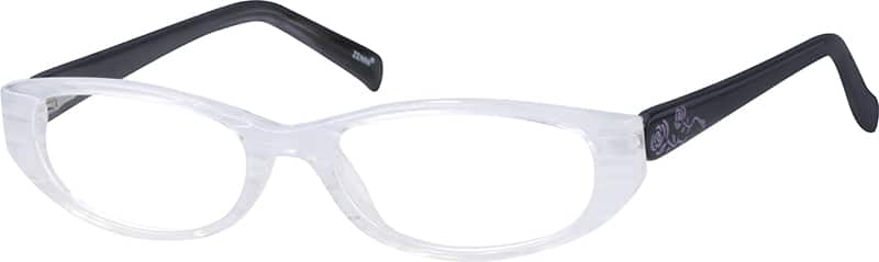 Girl Full Rim Acetate/Plastic Eyeglasses #664819