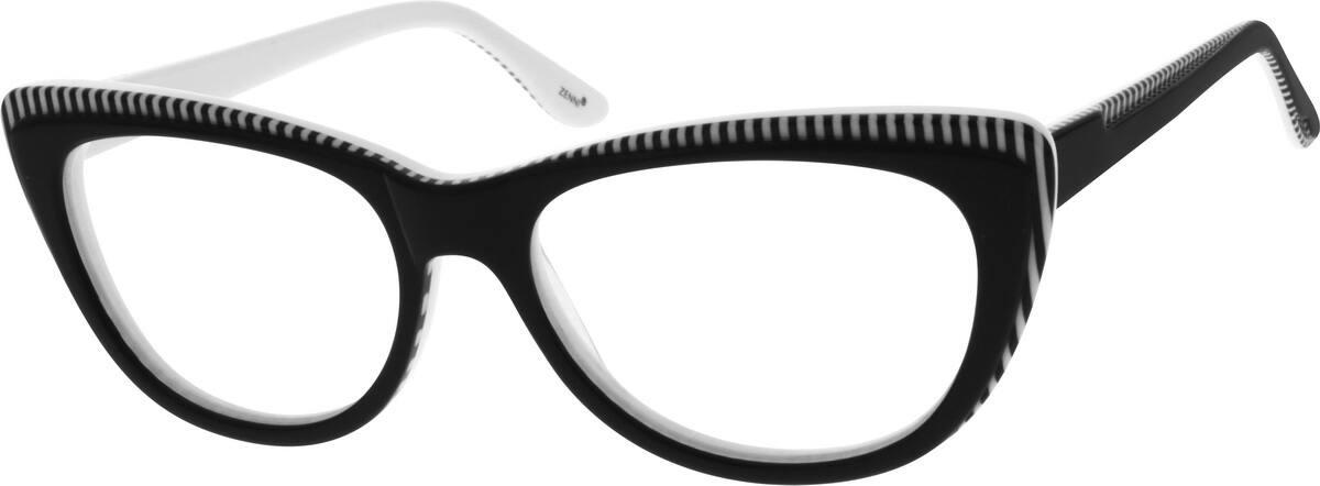 WomenFull RimAcetate/PlasticEyeglasses #664917