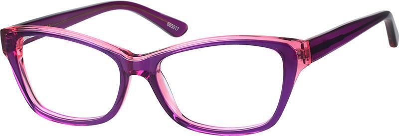 WomenFull RimAcetate/PlasticEyeglasses #665019